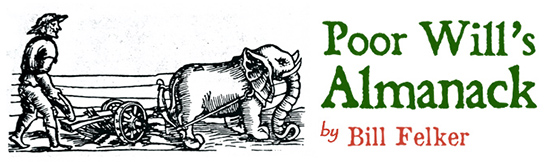 Poor Will's Almanack by Bill Felker